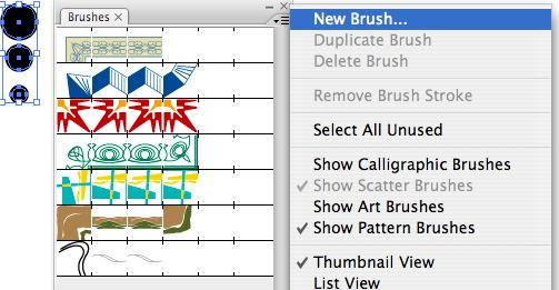Adding a brush in Illustrator
