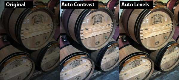 Auto Correct tools in Photoshop