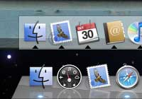 Apple's dock