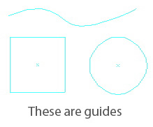 Path as Guides in Illustrator