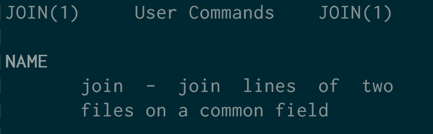 Linux and Unix join command tutorial with examples | George