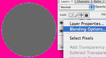 Blending options