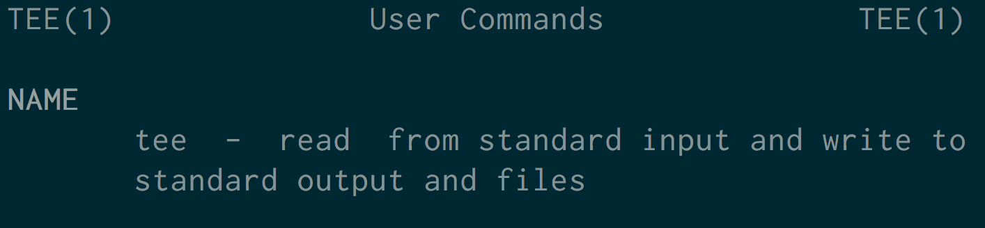 Linux And Unix Tee Command Tutorial With Examples George Ornbo