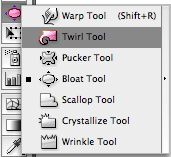 Finding the Twirl Tool